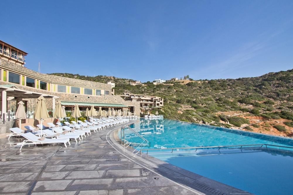 Pool Kreta Hotel Daios Cove Luxus