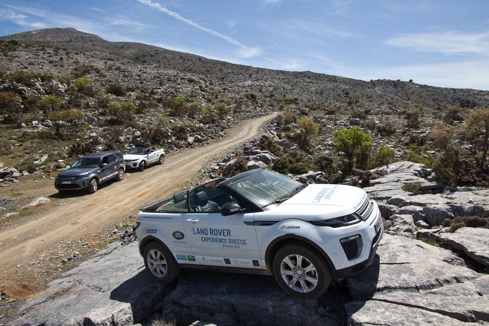 Klettern Land Rover Range Rover Evoque Cabriolet