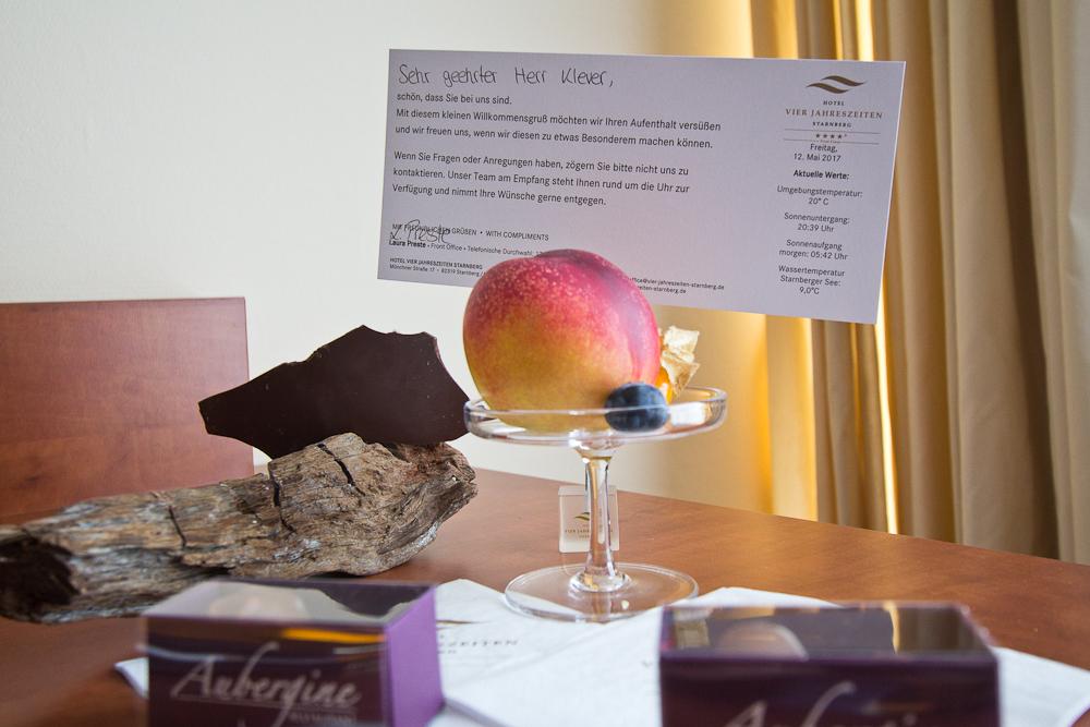 Willkommen Geschenk Hotel Vier Jahreszeiten Starnberg