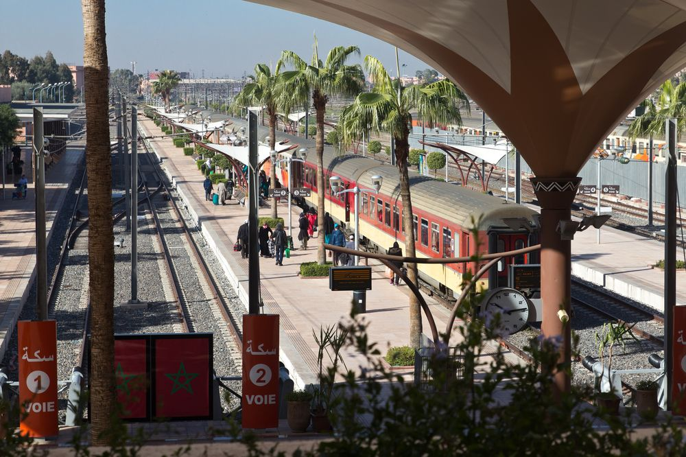 Bahnhof Railway Station Marrakesch Marraksh Reisebericht