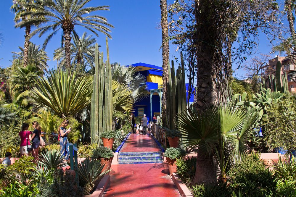 Marrakesch Jardin Majorelle Botanischer Garten